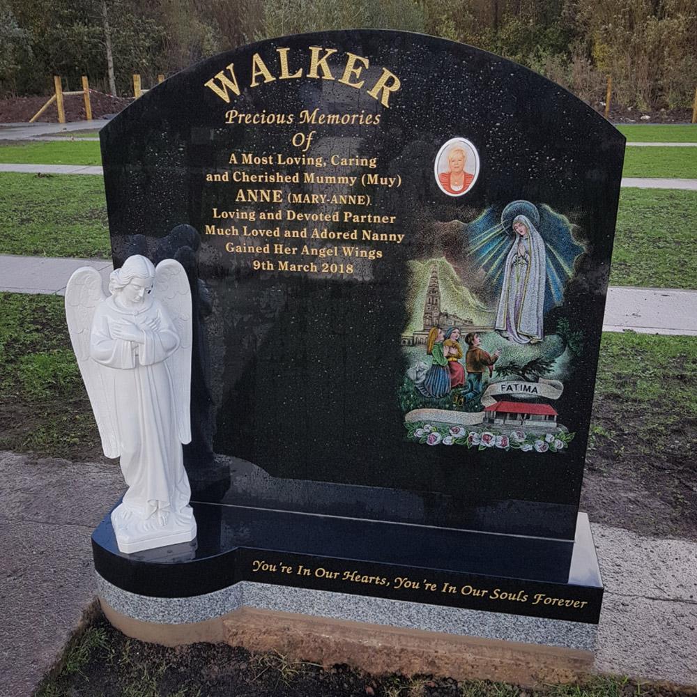 Religious Memorial Headstones 8