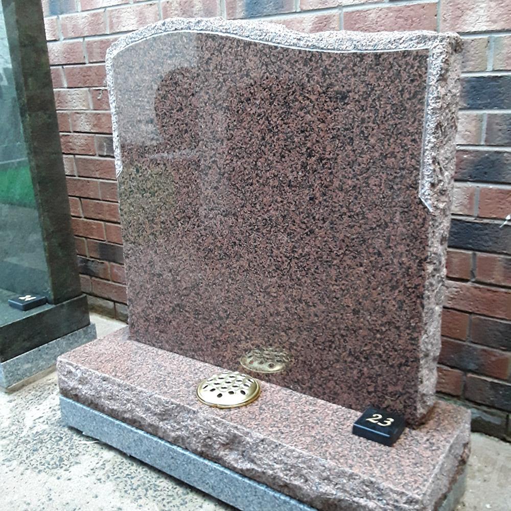 Rustic Memorial Headstones 1